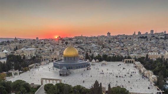 צילומי אוויר יחודיים – העיר העתיקה בירושלים