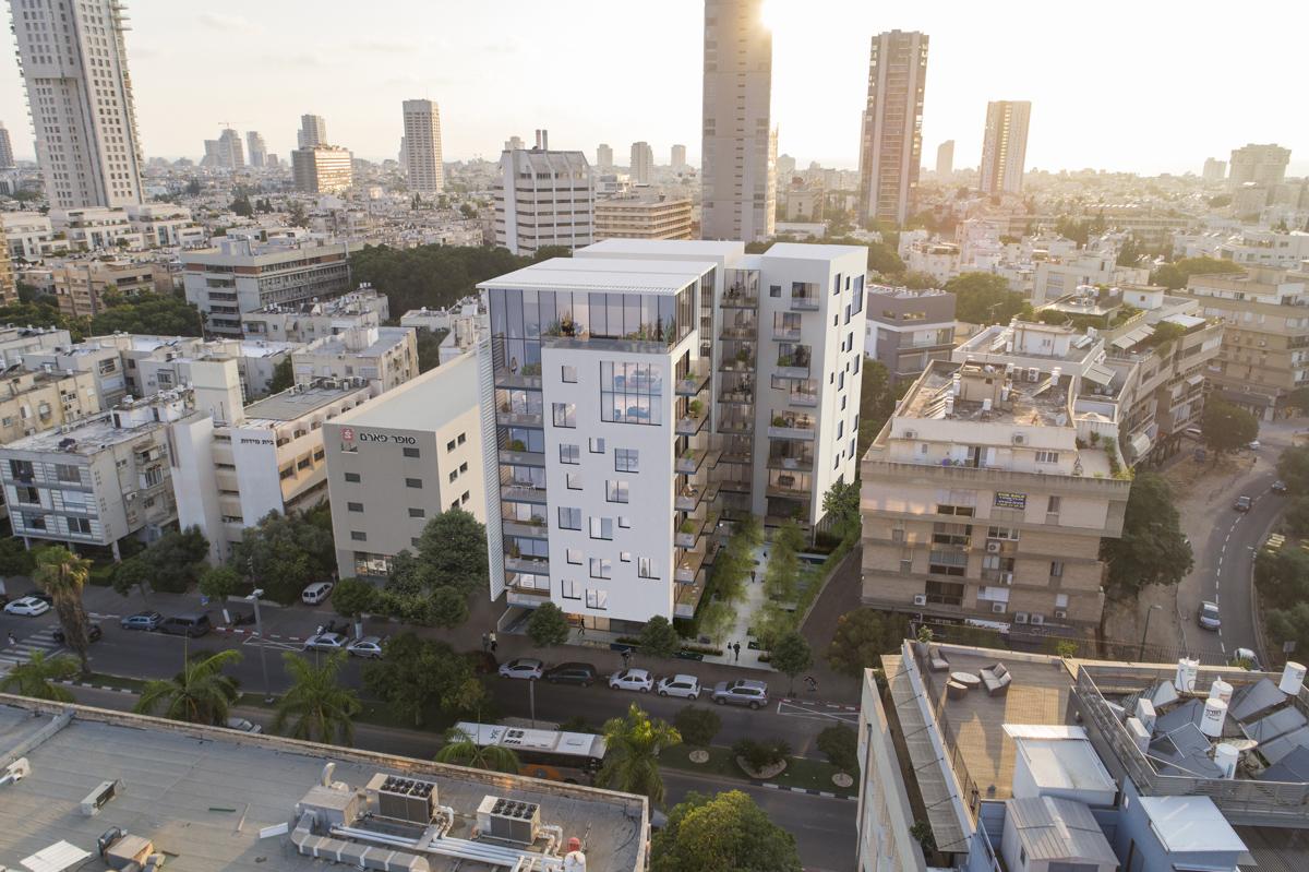 צילומי אוויר בתל אביב